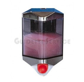 DISPENSER SAPONE LIQUIDO CAPACITA' LT 0,55 ART 513