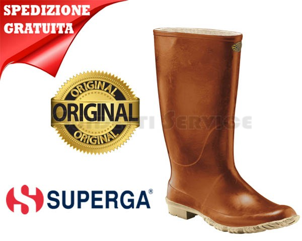 Stivali Gomma In C10 Marrone Superga zaRnz0